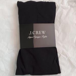 J. Crew Super Opaque Tights